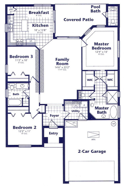 Pelican palms house layout page for House arrangement ideas